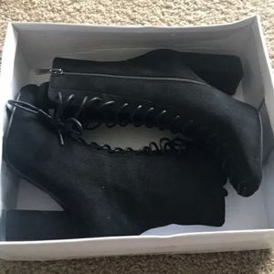 Cape Robbin Betisa Mystery Lace Up Boots
